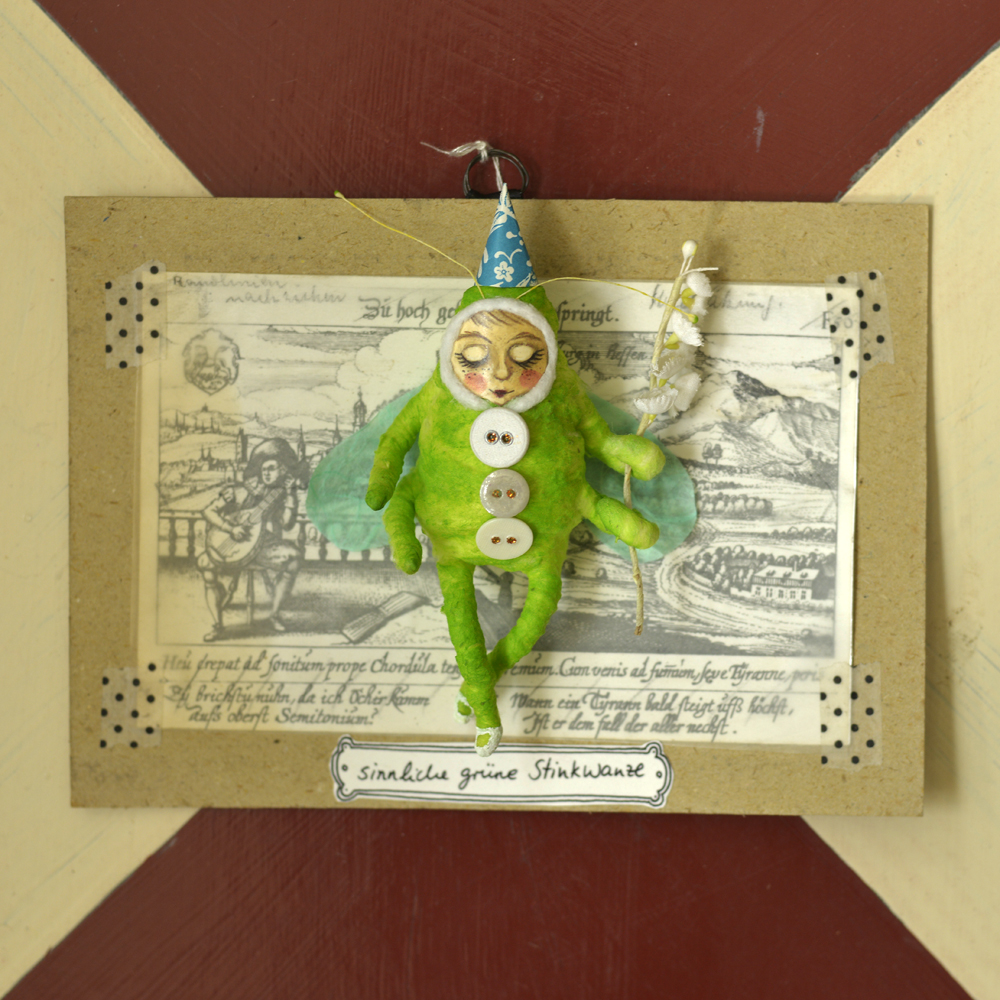 sinnliche grüne Stinkwanze