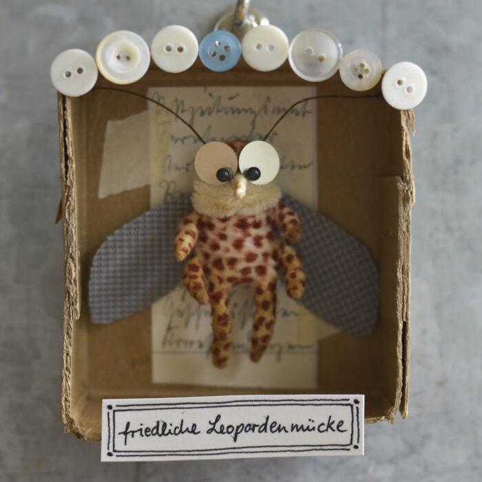 friedliche Leopardenmücke