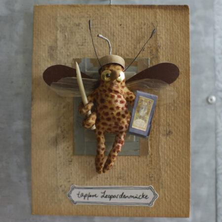tapfere Leopardenmücke