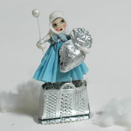 Silbermädchen Belle