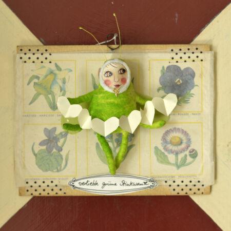 verliebte grüne Stinkwanze
